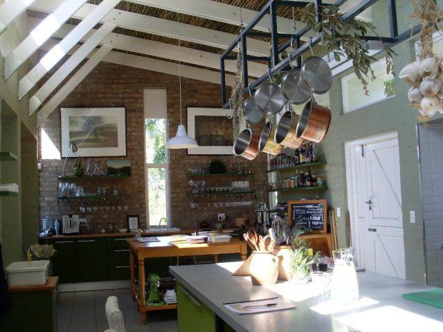 Kök på African Relish i Sydafrika